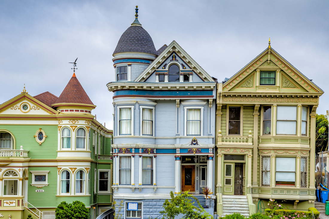 San Francisco - Alamo Square
