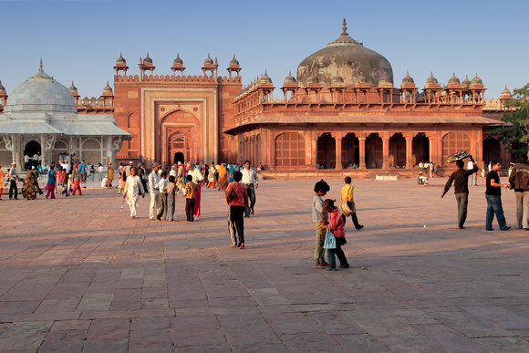 The mosque of Fatehpur Sikri
